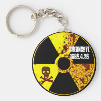 Chernobyl memorial anti nuclear key ring