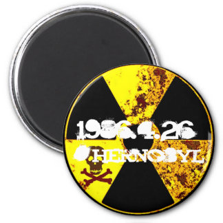 Chernobyl memorial anti nuclear magnet