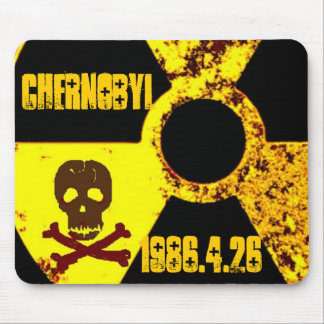 Chernobyl memorial anti nuclear mouse mat