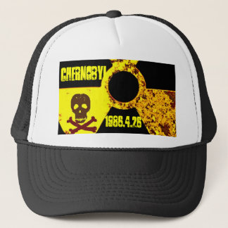 Chernobyl memorial anti nuclear trucker hat
