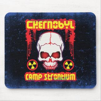 Chernobyl Strontium-90 Skull Mouse Mat