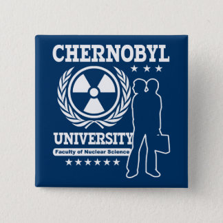 Chernobyl University Nuclear Science 15 Cm Square Badge