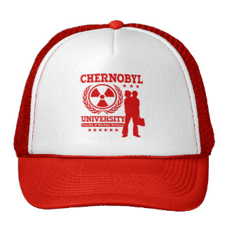 Chernobyl University Nuclear Science Geek Humor Cap