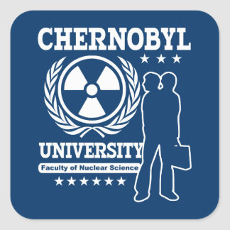 Chernobyl University Nuclear Science Stickers