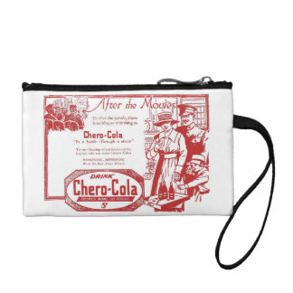 Chero-Cola vintage drink advertisement Coin Wallets