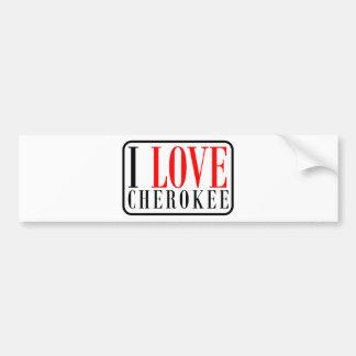 Cherokee, Alabama City Design Bumper Sticker