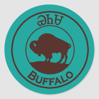 Cherokee Buffalo - Yanasa Sticker