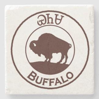 Cherokee Buffalo - Yanasa Stone Coaster