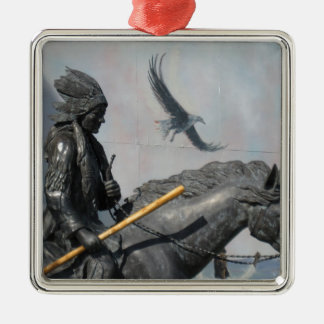 Cherokee & Eagle Christmas Ornament