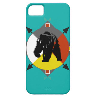 Cherokee Four Directions Bear iPhone 5C Case