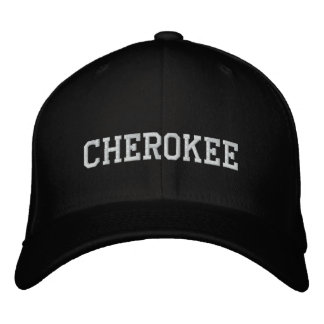 Cherokee Indian Embroidered Hat