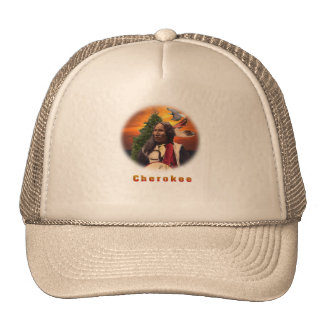 Cherokee indian hats