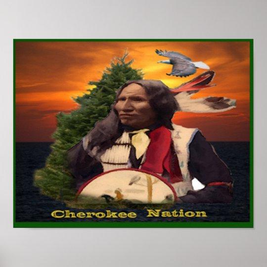 Cherokee Indian poster