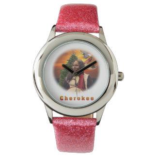 Cherokee indian wristwatches