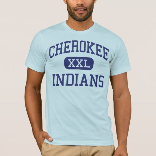 Cherokee - Indians - High - Cherokee Alabama T-Shirt