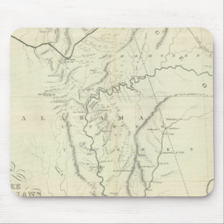 Cherokee Map Mouse Pad
