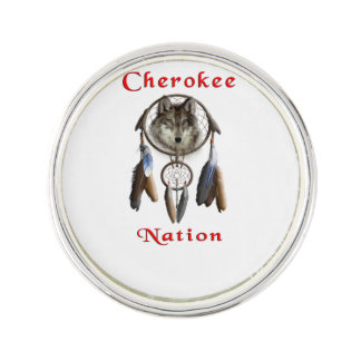 Cherokee Nation  clothing Lapel Pin