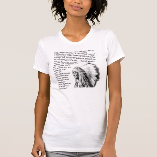 Cherokee Parable Tshirt
