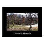 Cherokee Park Louisville Kentucky Postcard