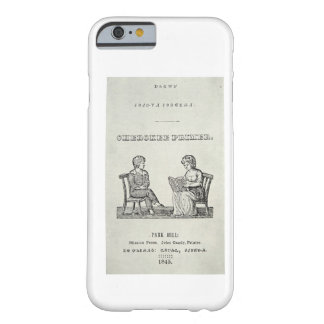 Cherokee Primer, 1845 (engraving) Barely There iPhone 6 Case