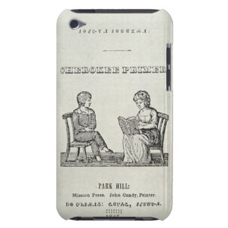 Cherokee Primer, 1845 (engraving) Barely There iPod Covers