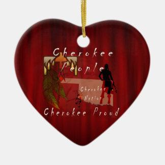 cherokee proud christmas ornament