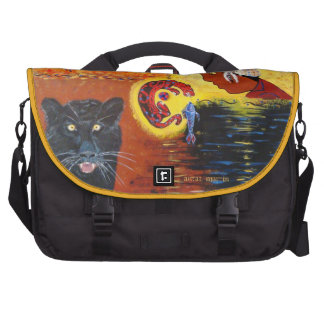 Cherokee Wild Cat Messenger Bag Laptop Messenger Bag