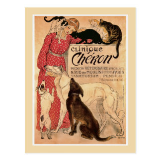 Cheron Clinique post card