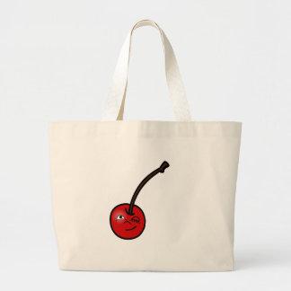 Cherricon Winking Jumbo Tote Bag