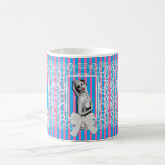 Cherrie Au Lait Sweetshop Cute Retro Pinup Girl Coffee Mug