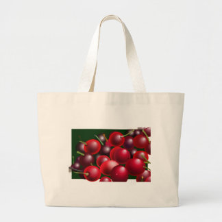 Cherries and lots of them canvas bag