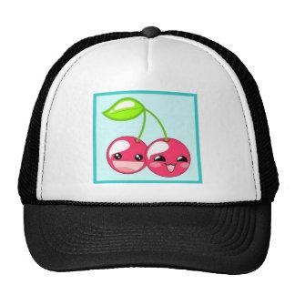 cherries b-ball cap