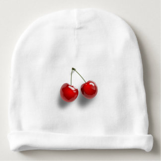 Cherries Baby Beanie