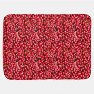 Cherries Baby Blanket