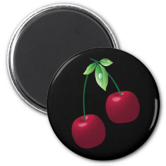 Cherries Black Magnet