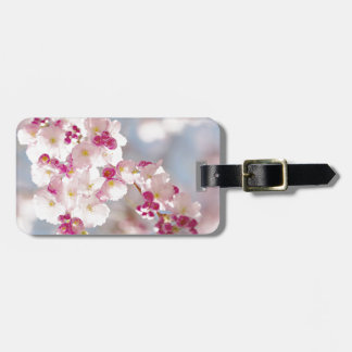 Cherries blossom/sakura/körsbärsblom luggage tag