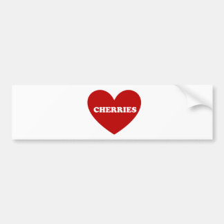 Cherries Bumper Sticker