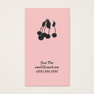 Cherries Calling Card