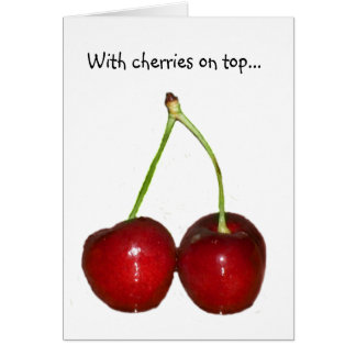 Cherries Card