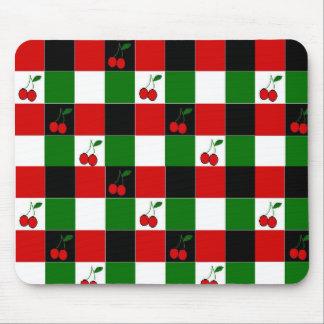cherries, cherries, cherries, cherries mouse mat