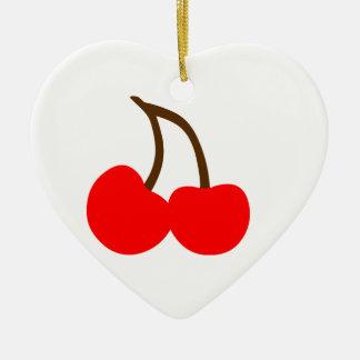 Cherries Christmas Ornament