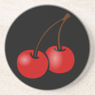 Cherries Coasters