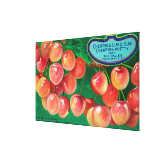 Cherries from the Cherry CityThe Dalles, OR Canvas Print