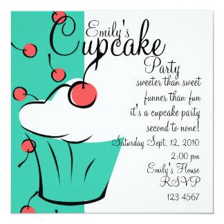 Cherries Jubilation Cupcake Card