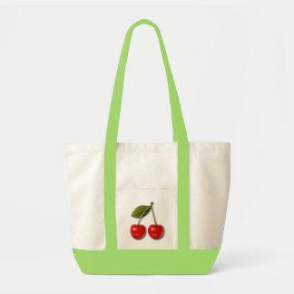 Cherries Jubilee 8 Impulse Tote Bag
