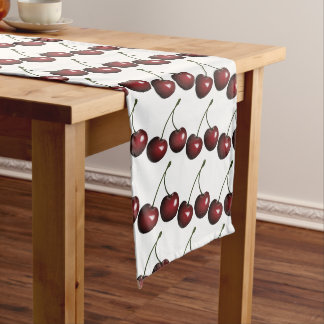 Cherries Long Table Runner
