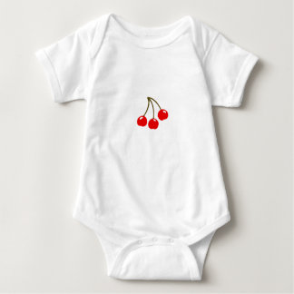 Cherries | magnet baby bodysuit