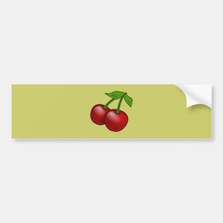 Cherries of cherries bumper sticker