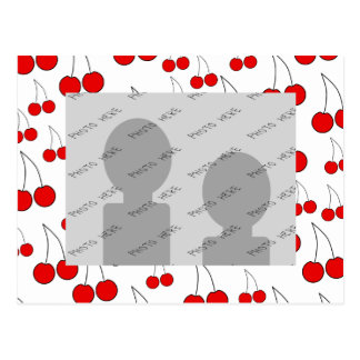 Cherries Pattern Postcards