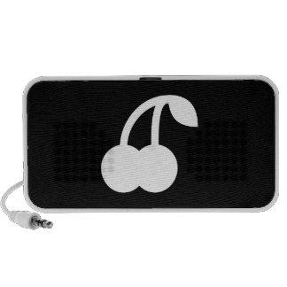 Cherries Pictogram Doodle Speaker